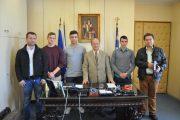 Συνάντηση με τον Δήμαρχο μετά από το Παγκόσμιο πρωτάθλημα Ζίου Ζίτσου στη Μαδρίτη Ισπανίας zante budo academy