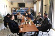 Συνάντηση με τον Υπουργό, τον Μητροπολίτη καθώς και τον Δήμαρχο μετά το πέρας του Παγκοσμίου στο Άμπου Ντάμπι zante budo academy