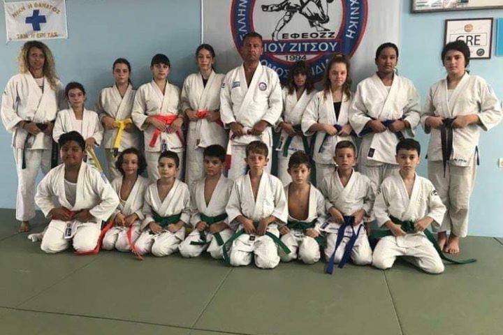 okinawa karate - ju jitsu - apollofanous filoxenos zakynthos by dimitris panagiotopoulos - παράδοση ζωνών αύγουστος 2021